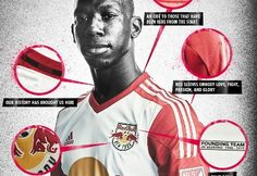 New York Red Bulls 2015 adidas Home Jersey