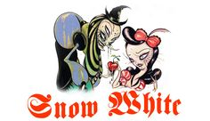 Camille Rose Garcia, one of my favorite artists of my generation depicting Snow White!