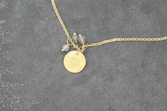 Goldketten - Kettchen mit Anhänger, 750er Gold - ein Designerstück von Bottega-Orafa bei DaWanda