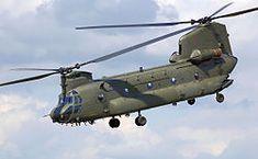 En esta imagen podemos ver el helicóptero mas grande del mundo:Chinook