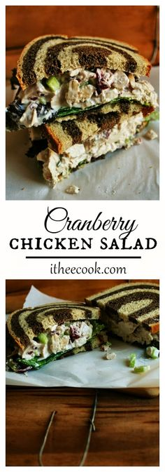 I Thee Cook: Cranberry Chicken Salad