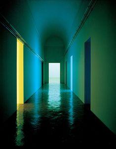 Dan Flavin . Museo Giuseppe Pansa . Varese . Italy