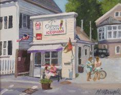 Manchester by the Sea Massachusetts Ice Cream Shack