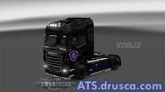 Scania skin for Scania R Normal American Truck Simulator, Racing, Running, Auto Racing