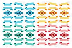 Oktoberfest Ribbons Set by barsrsind on @creativemarket