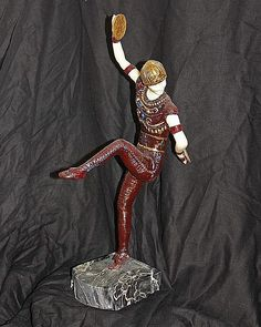 Chiparus-Bronze & Ivory Sculpture-Male Russian Dancer