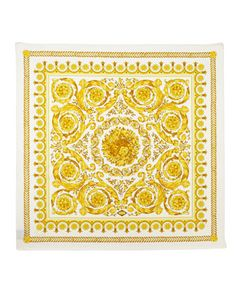 Foulard Square Scarf, Gold by Versace at Last Call by Neiman Marcus.