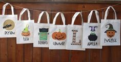 Personalized Halloween Bags | Jane