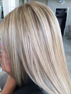 Highlights and lowlights Highlights und Lowlights Ash Blonde Hair With Highlights, Hair Blond, Light Blonde Hair, Heavy Highlights, Low Lights Hair, Corte Y Color, Purple Hair, Balayage Hair, Gorgeous Hair