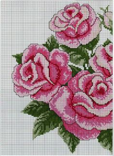 This Pin was discovered by Edn Cross Stitch Love, Beaded Cross Stitch, Cross Stitch Flowers, Cross Stitch Charts, Cross Stitch Designs, Cross Stitch Embroidery, Cross Stitch Patterns, Bead Loom Patterns, Cross Stitching