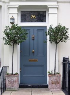 Mrs Peabod - A designers Inspiration board: Front Door Inspiration