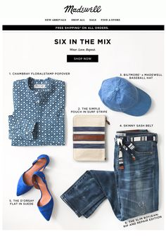 Madewell : Color Story