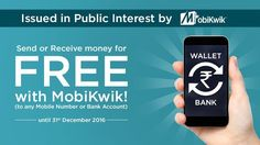 Free Bank Account Money Transfer Service in MobiKwik - http://www.inavitnews.com/free-bank-account-money-transfer-mobikwik-service/