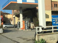 """Gas ,Gasoline,Petroleum station=Benzinaio """"IL PIENO PER FAVORE""""= Fill it up,please Driving around Tuscany, you need fuel """"benzina """" or """"diesel """". Every single little town has a station."""