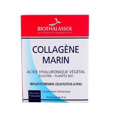 Collagène Marin Acide Hyaluronique - 10 ampoules - Biothalassol - Onatera.com