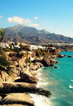 De kust van het mooie Malaga in Andalusië