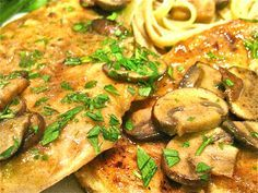 Easy & Elegant Chicken Marsala