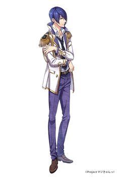 墨ノ宮 葵 CV.KENN | キャラクター | PSVITA®専用ソフト『マジきゅんっ!ルネッサンス』公式サイト