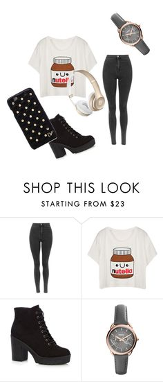 """""""YUM YUM"""" by feedbacker1 ❤ liked on Polyvore featuring FOSSIL and Diane Von Furstenberg"""