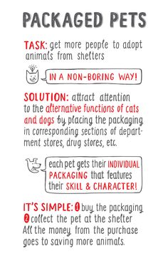 Student: Packaged Pets — The Dieline