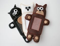 Cuddly Animals iPod and iPhone cases