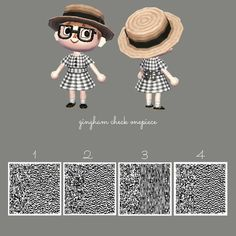 Bild - Animal Crossing - Welcome Haar Design Animal Crossing 3ds, Animal Crossing Qr Codes Clothes, Diy Home Crafts, Diy Arts And Crafts, Acnl Paths, Motif Acnl, Ac New Leaf, Happy Home Designer, City Folk
