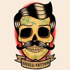 tatuaje calavera - Buscar con Google