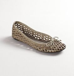 Celia Perforated Ballet Flats: Style #276548