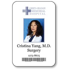 Your badge will arrive with a SAFETY PIN fastener on the back. This badge is printed in full color with a clear overlay that protects the print for a durable long lasting badge. Greys Anatomy Halloween Costumes, Greys Anatomy Costumes, Halloween Costume Props, Mouse Costume, Couple Halloween, Halloween Cosplay, Halloween 2020, Cristina Yang, Greys Anatomy Cast