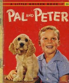 """""""Pal and Peter"""" Little Golden Book. Recycled Book Journal. Just $14. All Golden Books include the entire text included with the finished journal. Also? Bonus!!! I will, upon request, make a video of me reading ANY golden book to you and post said video to YouTube. Just make a note in checkout page. Here's a link to the Golden Book section of our website: http://bookjournals.com/journals/little-golden-books Love, Jacob"""
