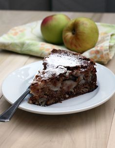 """Best Apple Cake EVER —a """"profusion of apples & pecans"""". The cake is the creation of Pastry Chef Joanne Chang, who owns Flour Bakery + Cafe in Boston, where it's a top-seller. The recipe is from her cookbook, """"Flour"""""""