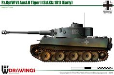 Pz.Kpfw VI Ausf.H Tiger I (early production model)