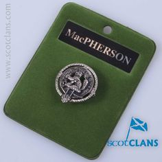 MacPherson Small Clan Crest Badge
