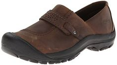 KEEN Womens Kaci Full Grain Slip On Casual Shoe Cascade Brown 8 M US >>> You can get more details by clicking on the image. (This is an affiliate link) #WomenLoafersSlipOns