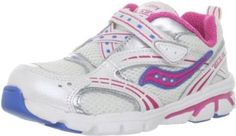Saucony Blaze A/C Running Shoe (Toddler/Little Kid) Saucony. $29.89. Fabirc. Manmade sole