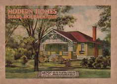 The cover of the 1914/15 Sears Modern Homes catalog.