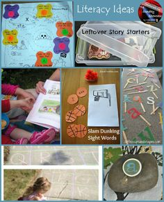 Literacy ideas featured on the Sunday Showcase