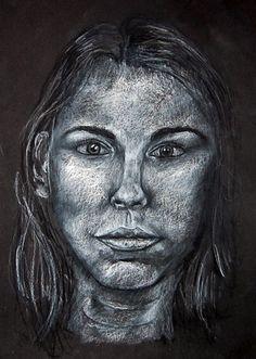 Madeliene Lachevre ~ Self Portrait