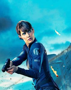 Maria Hill- Marvel Cinematic Universe (2008- present ) Even Though Sometimes She Disagrees with Her Superior Col.Nick Fury Shes Not Afraid To Act to Get The Sitiuation Under Control Wether it Will Be Stopping A God or Trying to Level The Helicarrier she will act
