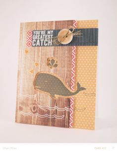 Copper Mountain card kit :: Whale of a Catch card by charimoss at @Studio_Calico