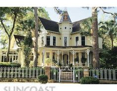 This is my ultimate dream home. 1885 Queen Anne in Tarpon Springs, FL. For Sale right now for $895,000