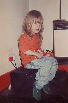 Who knew this scrappy little girl would grow up to be one of the top selling recording artists ever.  Adele