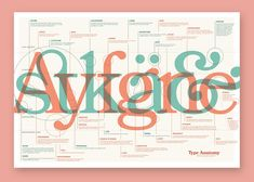 Type Anatomy — Sean Goodwin Type Anatomy, Anatomy Art, Types Of Eyes, Typographic Design, Type Design, Typography Poster, Infographic, Letters, Year 2
