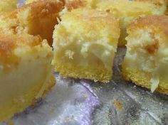 Biscoito de Leite Condensado (só com 3 ingredientes) - Receita original de myTaste Sweet Recipes, Cake Recipes, Sweet Corn Cakes, Love Cake, Homemade Cakes, Love Food, Cupcake Cakes, Food And Drink, Tasty