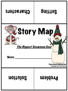 """The Biggest Snowman Ever ~ Book Written By Steven Kroll  {Based On Common Core Standards}    This Winter Unit has 72 pages of ideas, activities, foldables and printables that correlate with the book """"The Biggest Snowman Ever."""""""