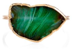 Fire Agate Cuff, Green on OneKingsLane.com