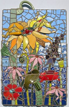 Gardenscape by Anja Hertle  ~  Maplestone Gallery  ~  We ship worldwide