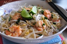Singapore Hokkien Mee (Recipes R Simple)