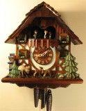 Jumping Deer German Cuckoo Clock