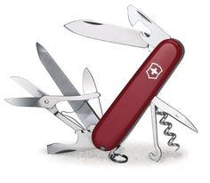 Favorite Camping Gear  | Victorinox Swiss Army Mountaineer Pocket Knife RedVictorinox Swiss Army Mountaineer Pocket Knife Red *** Click on the image for additional details.(It is Amazon affiliate link) #followher
